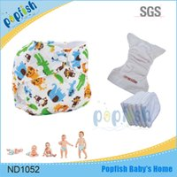babies diaper world - 2016 Fashion Cute Design China New Printed PUL Washable Lovely World Cloth Pants Baby All In One Diaper