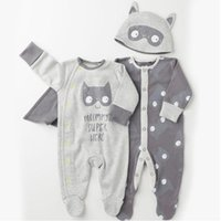 baby leaps - Autumn boy girl Climb clothes New Baby Clothing Baby Tights Leap to jump Jumpsuits hat Jumpsuits Cotton