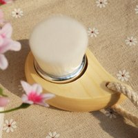Wholesale hand wash your face and brush cleansing brush manually magical Japanese Yen net wash brush brush grade
