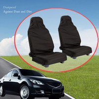 Wholesale Universal Styling Car Seat Cover Interior Accessories Van Front vehicle fit Dustproof Polyester Protectors Polyester