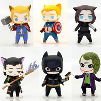 Wholesale Hot Sale styles can choose Avengers Thor Captain America Winter Soldier Bucky Loki Batman The Joker PVC Action Figure Toy Boxed