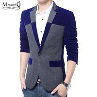 big mens blazers - high quality brand korean new Mens big size M XL Blazer jacket casual menssuits fashion blazer