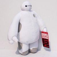 Wholesale New arrival Big Hero Baymax Robot Stuffed Plush Animals Toys CM Christmas Gfit for kids