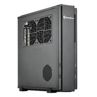 Wholesale Hot Sale ML07B simple classical HTPC computer case support USB Free DHL or EMS