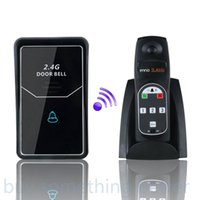 Wholesale 2015 new Home DIY security G Digital Wireless voice Intercom System Door Bell wireless remote unlock