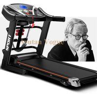home gym equipment - Promotion home multifunctional electric treadmills fitness folding motorized gym equipment running machine free ship worldwide