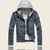 brand winter jacket for men - 2014 Quality New Autumn Winter Boutique Jeans Jacket Brand Casual denim Jackets For Man Outdoors Coat cowboy motorcycle jacket