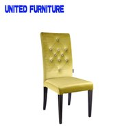 Wholesale Upholstered banquet dining chair for hotel Top selling new popular widely use hotel furniture high back dining chair for sale