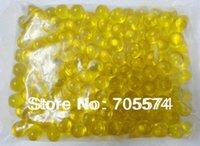 Wholesale Hot OEM g Yellow Round shaped Bath Oil Bead Flower Fragrance Bath Beads