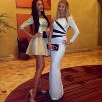 Wholesale 2014 Fashion Women s Autumn dress white pathwork Long sleeve Mermaid Floor Length Party Evening Maxi Dress F KF143 S M L Plus Size