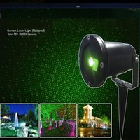 Wholesale Firefly Lights Waterproof Outdoor Laser Lights Landscape Red Green Laser Dot Projector for Lawn and Garden Home Decor Lights Xmas decorate