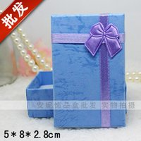 Wholesale 2015 hot sale Paper box cm Jewelry Candy Box hot new gift Beautiful fashion fit Jewelry ring earring pendant box