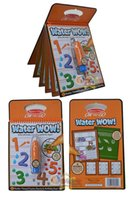 Wholesale Melissa Doug USA Brand Drawing Water Wow Bundle Animals Alphabet and Numbers Paint Kit Baby Eductaional Magic Pen Water Drawing Board