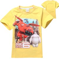 t shirts manufacturer - Super Big hero Corps summer new children s T shirt manufacturers