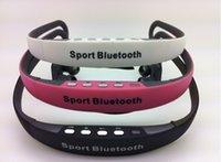 Cheap TX-508 car reader Sport mp3 Stereo Bluetooth headphones earphone wireless headphones wireless neckband earphones for iphone6 6plus s4 s5 LG