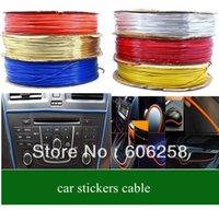 automotive decorative trim - 20meter Automotive trim car stickers car cable car decorative line