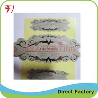 alcohol label - Customized classic custom alcohol adhesive wine label