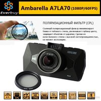 best logger - Best Ambarella A7 LA70 Car DVR Camera Recorder GPS Logger P FPS Degree Night Vision WDR With polarizing Filter A7810