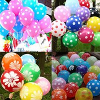 balloons house - New Arrivals set Inch Polka Dot Latex Balloon Celebration Birthday Wedding Party Supplies Home Decorations CX338