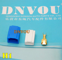 auto intake - 200 sets H1 A Auto connector H1 car lamp holder Ceramics lamp holder for GM VW ect car