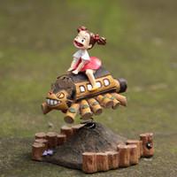 action houses - Mei Toroto Bus Totoro Playground House Scene Figure Doll Miyazaki Hayao My Neighbor Totoro DIY Micro Landscape Action Figures Creative DIY