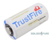 Wholesale Outdoor TrustFire CR123A V mAh Primary Li ion Battery White High Quality Tactical Military Airsoft Battery order lt no