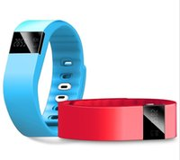 Wholesale TW64 Fitbit Flex Tracker Bluetooth Smartband Sport Waterproof Bracelet Smart Band Wristband Watches for iPhone IOS Android PK Fitbit
