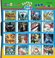 Wholesale 32G multi game cartridge F09 games in one card for DS DSI DSXL DS with