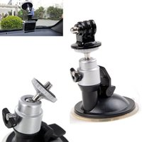 Wholesale Car Windshield Suction Cup Cradle Holder with Tripod Mount for GoPro Hero