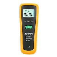 Wholesale KKMOON High Precision Carbon Monoxide Detector Carbon Monoxide Meter Portable CO Gas Tester Monitor LCD CO Detectors order lt no track