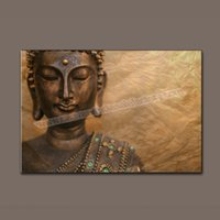 Cheap buddha painting Best wall art canvas painting