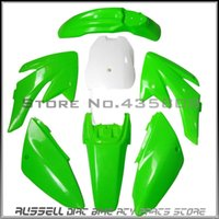 Wholesale CRF70 DIRT PIT BIKE Plastic Fenders covers kits For Honda CRF70