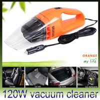 Wholesale DHL Car vacuum Cleaner of Portable Handheld Wet Dry Dual use Super Suction V W CV