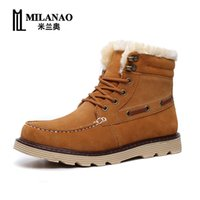 Wholesale Discount Winter Motorcycle Martin Ankle Boots for Men Men s Boots Winter Snow Boots