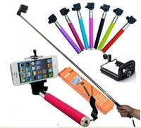 Wholesale 30 sets Self timer Monopod clip holder Z07 Adjustable Monopod with Holder for Digital Camera Cell Phone hot sale
