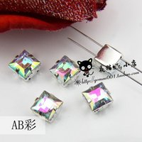 acrylic goblets - Diy claw rhinestones drill sew on mm goblet square acrylic claw drill clothes wedding decoration accessories