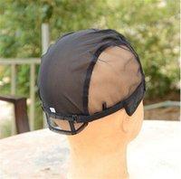 Wholesale New Arrive Small Medium Large Adjustable Strap Middle Parting U Part Wig Cap