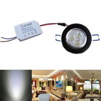 Wholesale New Led lamp Led Light spotlight Cabinet Downlight Fixture Recessed Lamp White Ceiling W Home decoration hot sale
