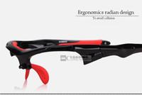 achat en gros de lunettes de soleil lentille jaune vélo-Gros-2015 nouvelles lunettes de soleil 5 lentilles polarisées lunettes ultra-léger optique pour le cyclisme en plein air UV protéger des accessoires de vélo jaune noir blanc