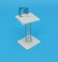 Wholesale Plastic POP Sign Display By Both Square Adhesive Tap With Spring In Middle Hanging Poster Or Products Good Quality