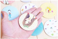 Wholesale Best price live work sweet cute little mirror makeup mirror portable mirror second generation