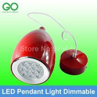 kitchen islands - 12W Pendant Lamp Dimmable Dining Lamp V V V V V V Hanging Lamp Drop Light Cafe Light Bar Lamp Island Lamp