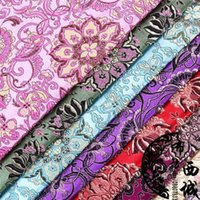 brocade fabric - Han Chinese clothing costume dress baby clothes kimono fabric brocade fabrics COS High Guanyin flower