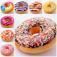 best office chairs - 2016 styles Donuts shape chair cushion funny cute Stuffed Plush Toy Dolls Christmas Present Home office Decoration best gift E351J