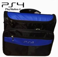 Wholesale Travel Carry Protective Shoulder Bag For Sony PS4 Console Accessory Fine Workmanship Portable Carrying Travel Case