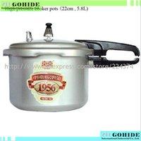 big pressure cooker - Big Deals Aluminum alloy High pressure cooker pots cm electric cooker and gas cooker use for persons L in