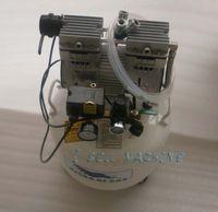 DHL frete grátis alta qualidade compressor de ar bomba de ar oilless silenciosa para reforma lcd para iphone 4 samsung i9500 s4