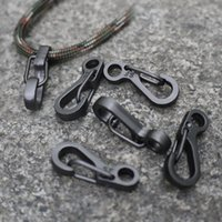 Wholesale Mini SF Spring Clasps Climbing Carabiners EDC Keychain Camping Bottle Hooks Backpack Climbing Clasps Tactical Survival Gear