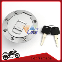 Wholesale Motorcycle Fuel Cap Tank Cover Gas Cap for Yamaha YZF R1 R6 YZF XJR1200 XJR400 TDM850 TDM900 TRX850 FJ1200 order lt no track