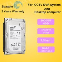 Wholesale New gb Seagate quot inch Hard disk TB rpm MB SATA Internal HDD for Desktop DVR recorder CCTV system